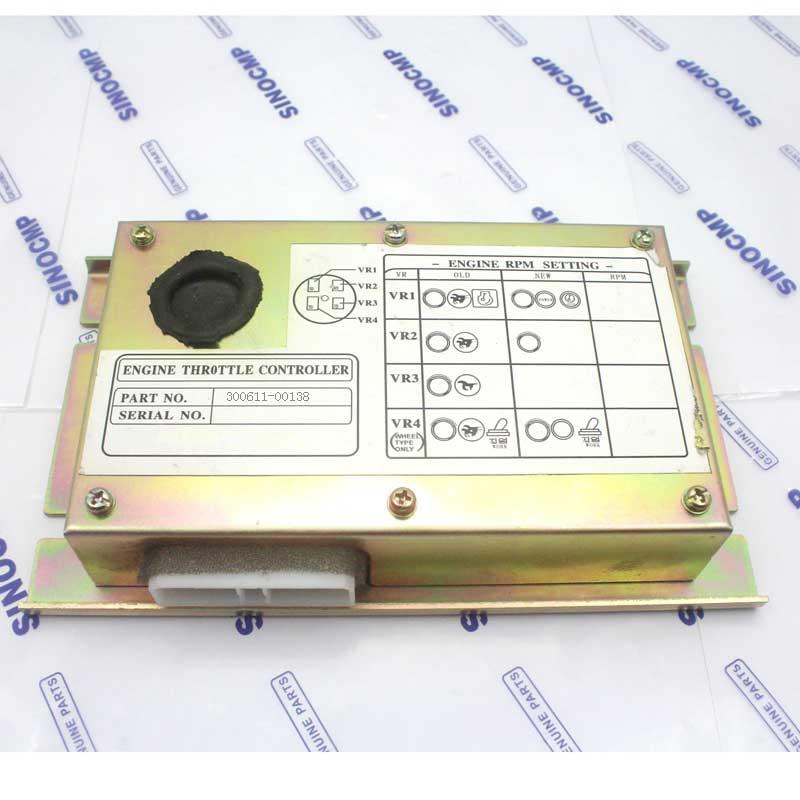 Contrôleur d'accélérateur de moteur 300611-00138 pour pelle Doosan S225LC-V, garantie 1 an