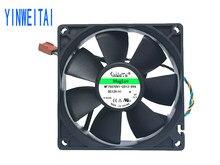 2pcs ventilador para Delta AFB0912VH = AUB0912VH 9cm 90mm 90*90*25 MILÍMETROS 9225 DC 12V 0.60A 4-pin pwm ventilador de refrigeração da cpu do computador