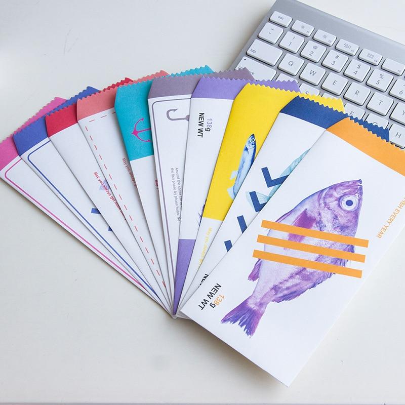 20 unids/lote lindos dibujos animados de Corea Mini sobre de papel colorido Kawaii pequeño regalo de bebé Craft sobres para invitaciones de cartas de boda