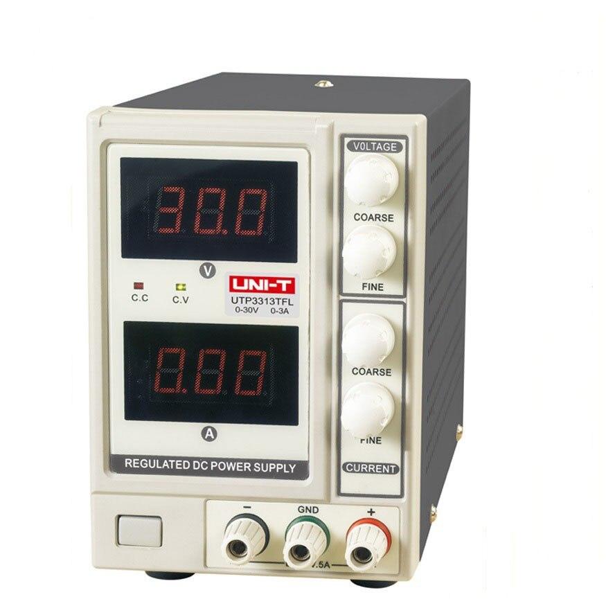 UNI-T UTP3313TFL DC Power Supply Current Limitation Output Voltage 0-30V dc power supply uni trend utp3704 i ii iii lines 0 32v dc power supply