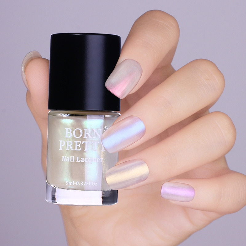 9ml Born Pretty Clear Shell Glitter Nail Polish Glimmer Lacquer Varnish Manicure Art Color In From Beauty Health On Aliexpress
