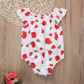 Newborn Baby Toddler Girls Floral Ropa Sunsuit Mameluco Del Mono 0-18 M