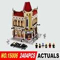2016 Nuevo Palacio Cine LEPIN 15006 2354 unids Creador Modelo Building Blocks establece Ladrillos Juguetes Compatible 10232 BrickGift