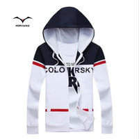 The New 2016 Men S Coat In Spring And Autumn Fashion Trend All Match Monogrammed Hoodie