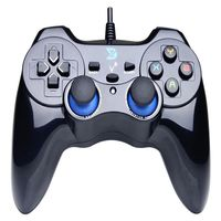 USB Wired Gaming Controller Gamepad for PC Windows XP/7/8/10 Laptop Computer PS3 USB Dual Shock Gamepad Gaming Controller
