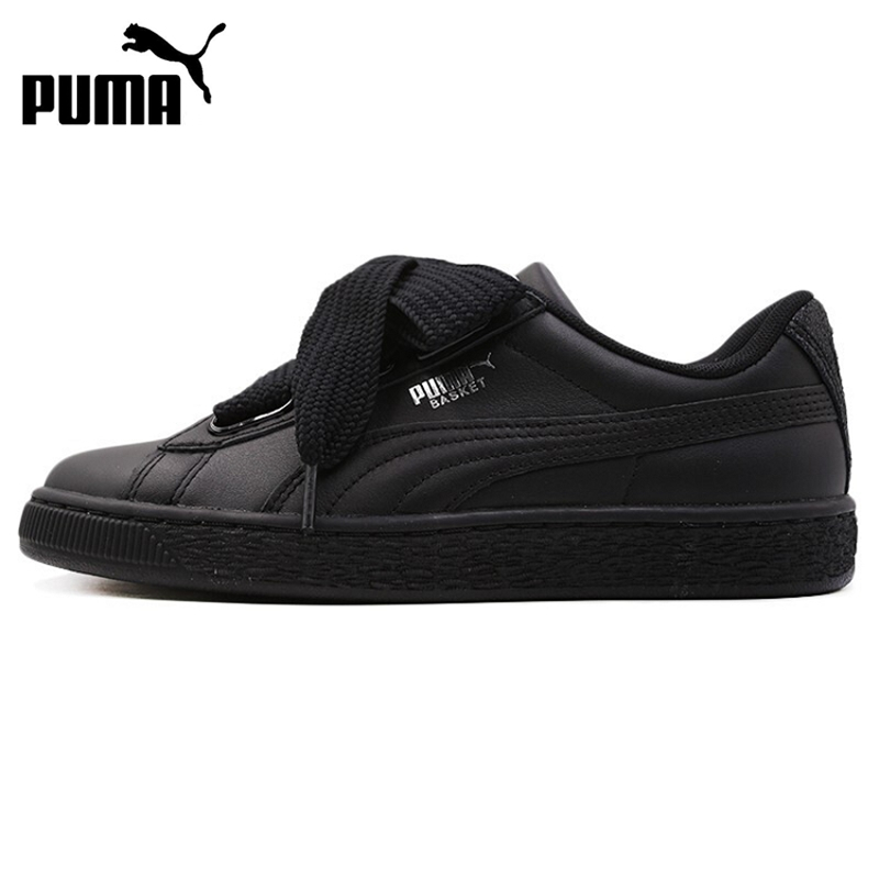 Original New Arrival 2019 PUMA Basket Heart Bio Hacking Women's  Skateboarding Shoes Sneakers
