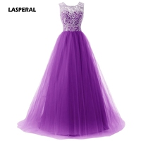 LASPERAL 2017 New Fashion Women Sexy Mesh Sleeveless Dress Sequin Prom Ball Formal Gown Elegant Party