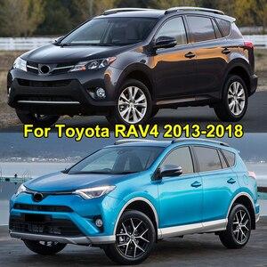Image 5 - Für Toyota RAV4 2013 2014 2015 2016 2017 2018 Hinten Trunk Cargo Net Mesh Gepäck Elastische Haken Flache Nylon auto Zubehör
