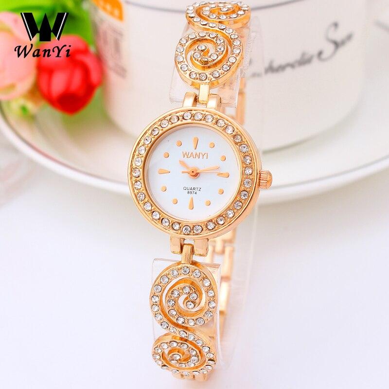 Elegant Women Watches Famous Brand Women Bracelet Watch Fashion Casual Luxury Ladies Clock female wristwatch Quartz Watch