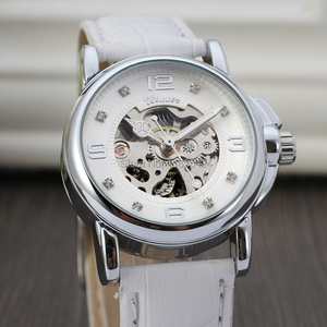 Image 3 - 승자 여성 시계 최신 디자인 시계 레이디 최고 품질 시계 공장 쇼핑 패션 손목 시계 색상 흰색 WRL8011M3S10
