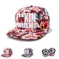 2016 moda cor boné de beisebol Snapback ajustável osso flor Hip Hop para mulheres Sombreros chapéus ventile conforto