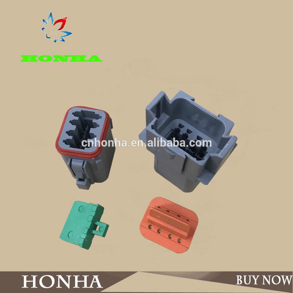 1e76650493377c 8 Pin DJ3081Y 1.6 11 21 Deutsch Connectors DT04 8P DT06 8S Automobile  waterproof wire electrical connector plug -in Cables