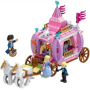 Image 3 - New  Friends  Windsors Castle And Carriage DIY Model Building Blocks Kit Toys Girl Birthday  Christmas Gifts