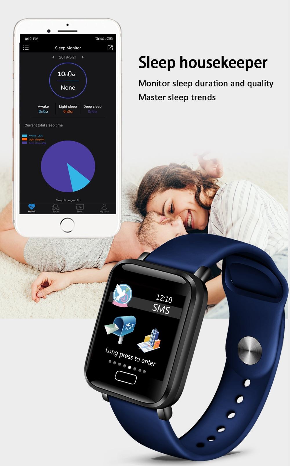 HTB1Uplca4D1gK0jSZFKq6AJrVXaC LIGE Smart Bracelet Women IP67 Waterproof Fitness Tracker Wristband Pedometer Heart Rate Monitor Sport Smart watch Android ios