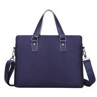 BAIBU Famous Brand Business Men Briefcase Bag Multi Function Waterproof Nylon Laptop Bag Man Male Messenger