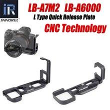 Innorel LB A7M2 LB A6000 l 型 LB A7 ii ハンドグリップのために特別にソニー Alpha7II A7R2 A7M2 A7II A6000
