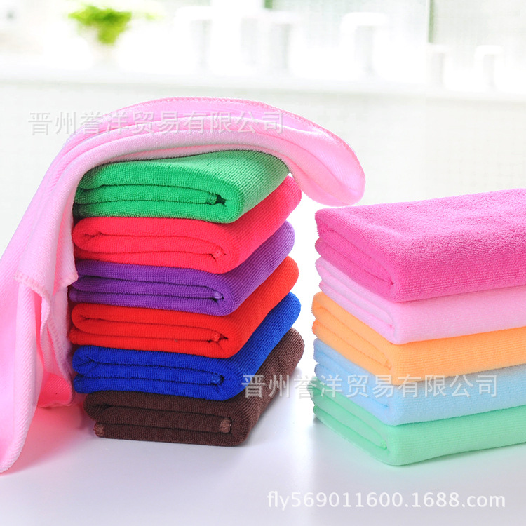 Factory Direct Sales Of Superfine Fiber Towel 30 70cm Dry