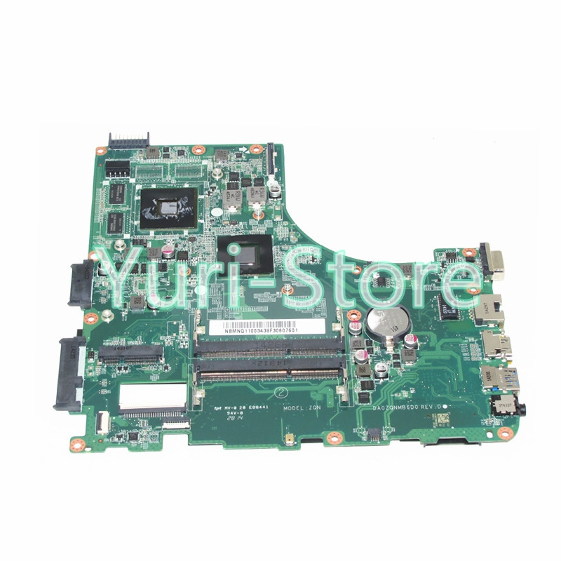 NOKOTION DA0ZQNMB6D0 For acer aspire E5-421 E5-421G Laptop motherboard NBMNQ11003 NB.MNQ11.003 A4-6210M ddr3NOKOTION DA0ZQNMB6D0 For acer aspire E5-421 E5-421G Laptop motherboard NBMNQ11003 NB.MNQ11.003 A4-6210M ddr3