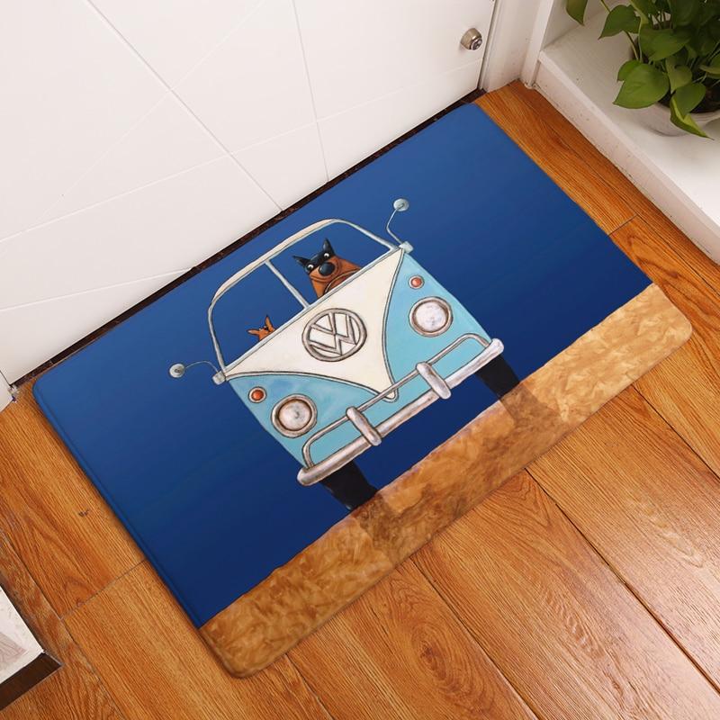 Cartoon Anti-slip Floor Mat 2