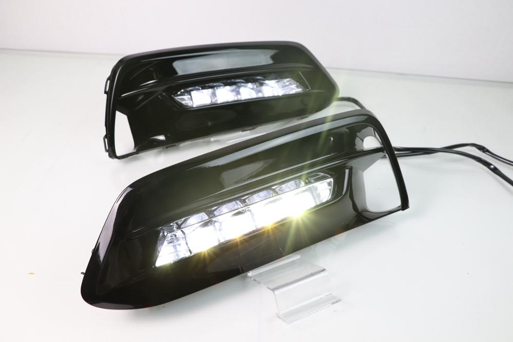 1 Set LED DRL Front Bumper LED Fog Light Assembly For Honda Accord 2018-2019