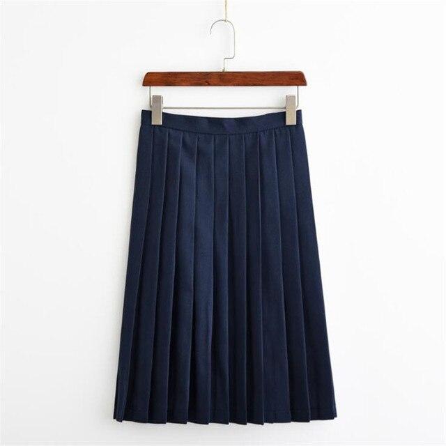Японская юбка в студенческом стиле 1