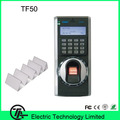 Biometric 3000 users fingerprint time attendance and access control with IC card reader TCP/IP communication TF50