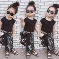 Baby boy Girls Clothing Set Summer Style Toddler Girl T-shirts+Harem Pants Animals Kids Clothes Sets  Fashion Children Suits
