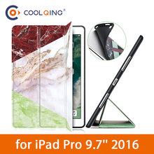 TPU Soft Tablets Case For iPad Pro 9.7 2016 Fashion Marbling Pattern Patchwork Protective Smart Tablet
