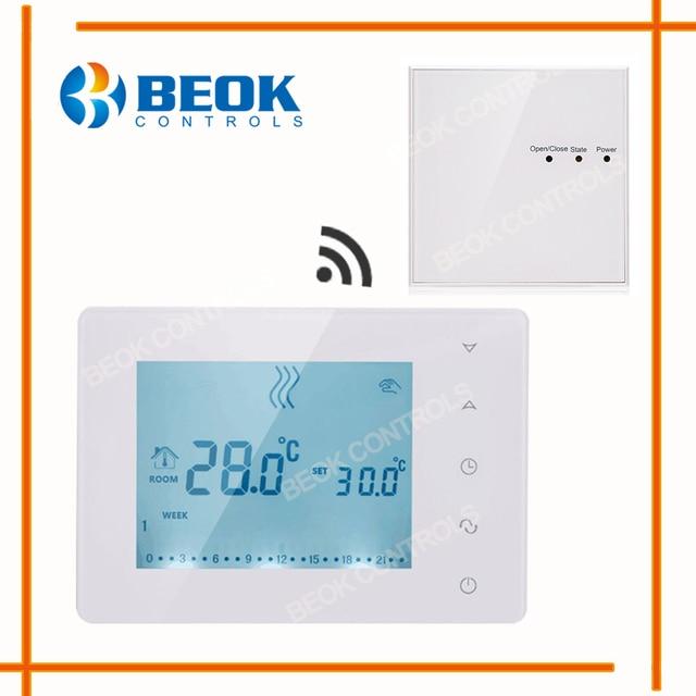 Beok Wöchentliche Programmierbare Wireless Thermostat Regelt ...