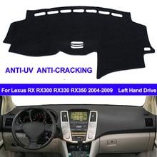 TAIJS Car Dashboard Cover Dash Mat For Lexus RX RX300 RX330 RX350 2004 2006 2007 2008 2009 Non slip Sun Shade Pad Carpet Anti UV