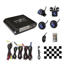 Accessori Per auto Weivision Universale 360 Gradi uccello Vista Surround Sistema di Vista Panoramica, All round View sistema di telecamere con DVR