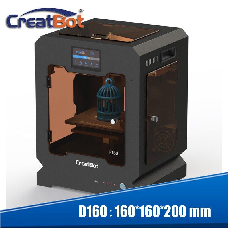Creatbot 3d imprimante haute température F160 PEEK machine d'impression 160*160*200mm pour l'école l'éducation dentaire médical zone