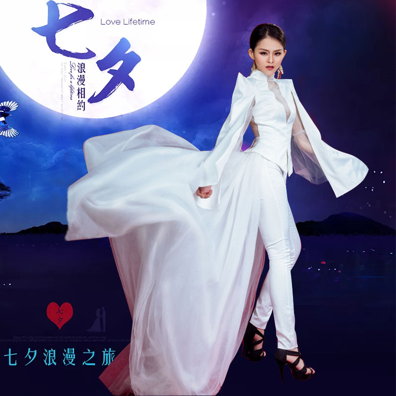 Jazz Dance Costume Women Sexy Stage Wear Dj Rave Clothes Black Nightclub Dancing Suit Pole Dance Ds Performance Clothing Dc2011 Chinese Folk Dance Novelty & Special Use