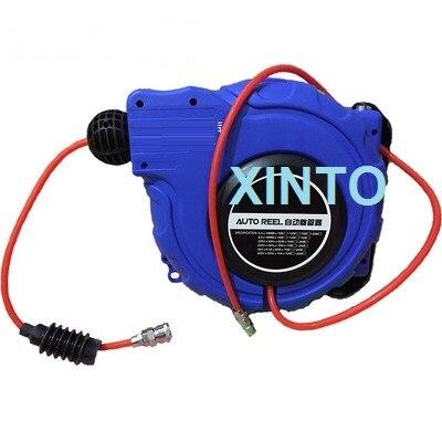 8x5mm 1025m automotive air hose reel plumbing hoses automatic retractable reel - Retractable Hose Reel