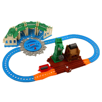 Universal Electric And Diecast Train Track Master General Scene Accessories Compatible With Brand Train Track Sets For Children