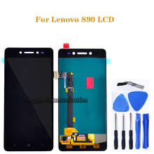 5.0 for Lenovo S90 LCD + touch screen digitizer component replacement for Lenovo s90-T S90-U S90-A LCD display repair kit+tools 100% tested original lenovo s90 lcd display touch screen digitizer pannel assembly with frame replacement s90 t s90 u s90 a tool