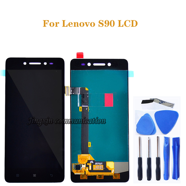 """5.0"""" for Lenovo S90 LCD + touch screen digitizer component replacement for Lenovo s90 T S90 U S90 A LCD display repair kit+tools"""