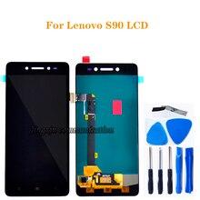 """5.0 """"para Lenovo S90 LCD + de toque digitador da tela de substituição de componentes para Lenovo s90 T S90 U S90 A LCD reparação exibição + kit de ferramentas"""
