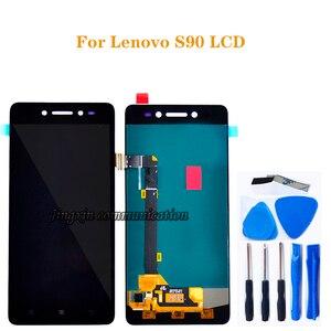 """Image 1 - 5.0 """"para Lenovo S90 LCD + de toque digitador da tela de substituição de componentes para Lenovo s90 T S90 U S90 A LCD reparação exibição + kit de ferramentas"""