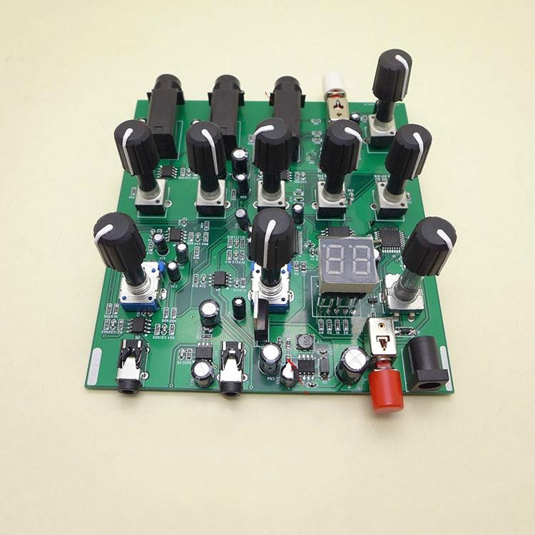 DC 5V DSP Digital Reverberation Stereo Karaoke Reverberation Board Mixer Module