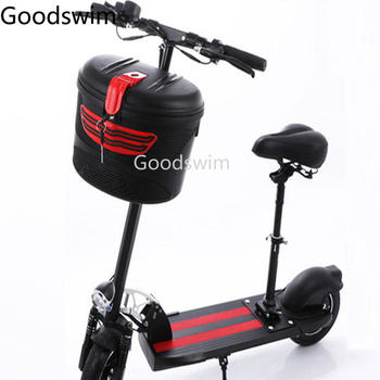 Plastic Basket with Lock for Xiaomi Mijia M365 M187 Ninebot Es1 Es2 Spin Bird SEALUP Electric Scooter E Bike Parts