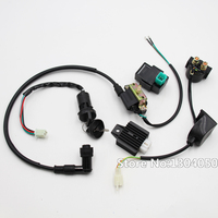 Regulator Rectifier Relay Ignition Coil 5 Pin CDI Key Switch For Chinese ATV Quad 50cc 70 90cc 110cc 125cc NEW