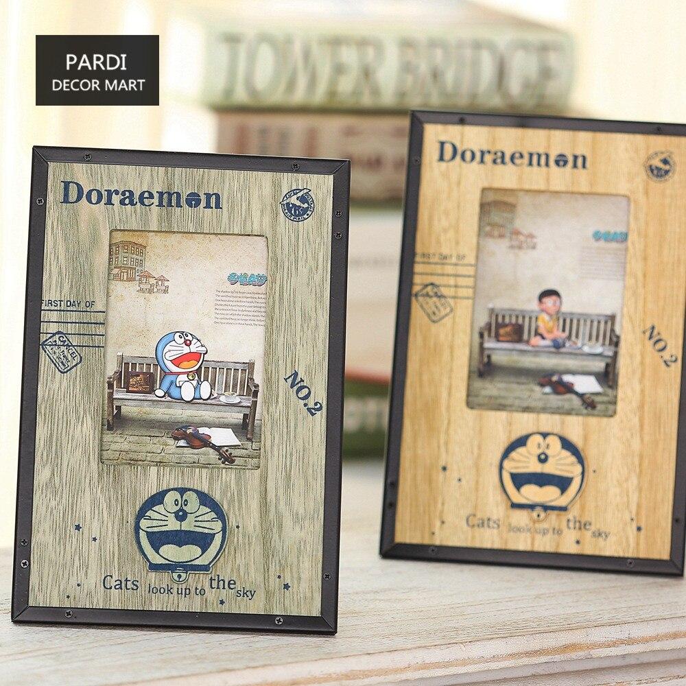 Doraemon decoración del escritorio marco de fotos marco de Fotos ...