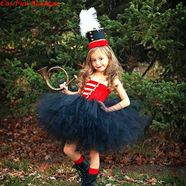 Nutcracker Birthday Party Pageant Girl Tutu Dresshat Toy Soldier