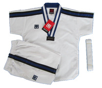 High Quality Taekwondo Dobok Short Sleeve Karate Uniform White Men And Women Kids Dobok Taekwondo Hombre