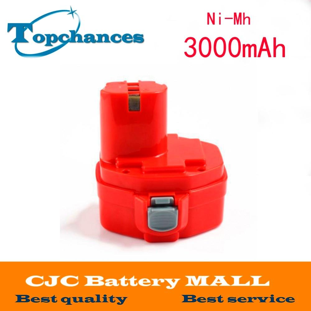 3000 mAh 14.4 V NI-MH Batterie Pour Makita 1420 1422 192600-1 193985-8 194172-2 PA14