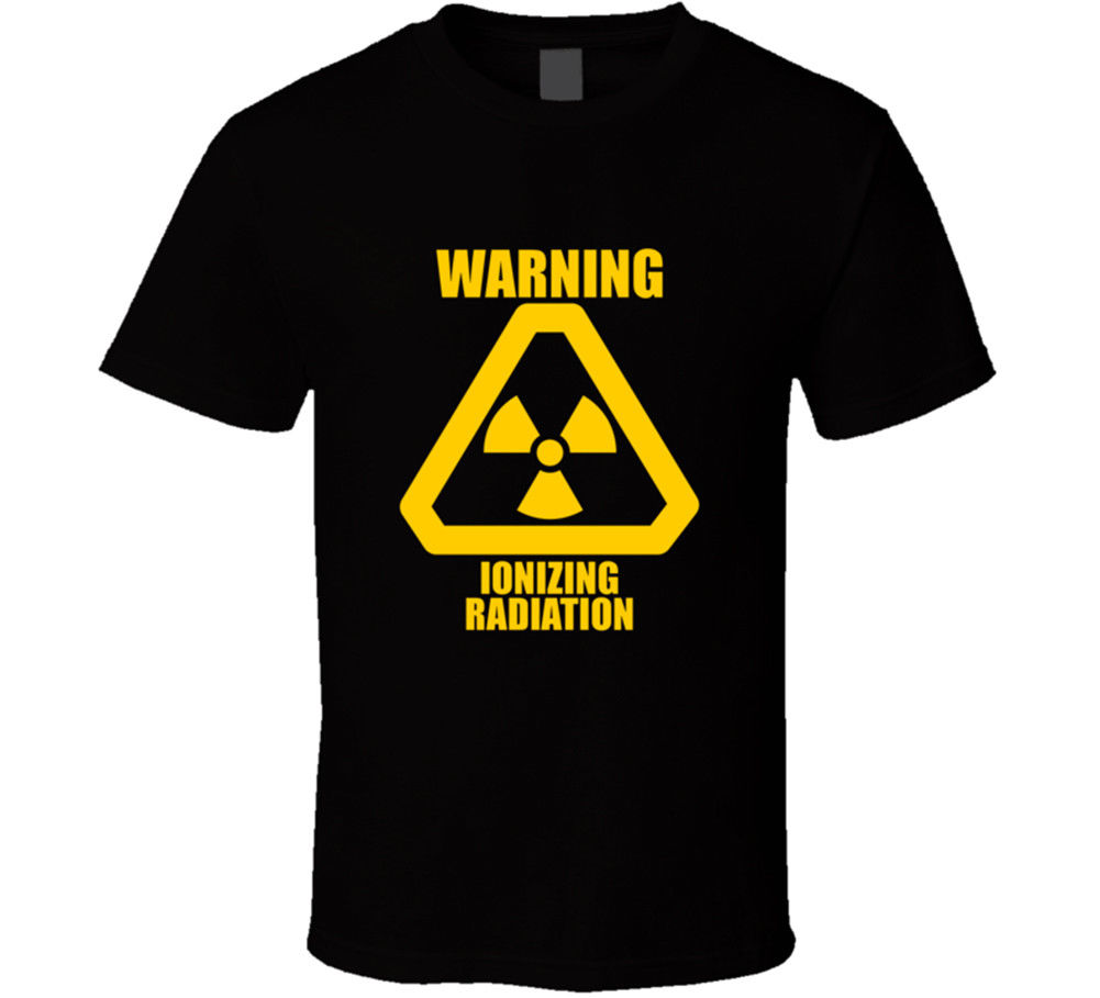 Radiation Symbol Black T Shirt Danger Atomic Zombies New From Us In