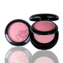Professional Double Color Makeup Blush Face Blusher Powder Palette Cosmetics