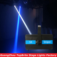 2016 Free Shipping 5R Sniper Stage Light 5R Lamp 100V 240V DMX512 14/20 CHs Professional Outdoor 5R Sniper Disco Laser Light