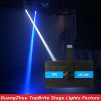 Mejor 2016 envío gratis 5R francotirador luz de la etapa 5R lámpara de 100 V-240 V DMX512 14/20 CHs al aire libre profesional 5R francotirador disco de luz láser